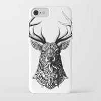 ornate iPhone & iPod Cases featuring Ornate Buck by BIOWORKZ