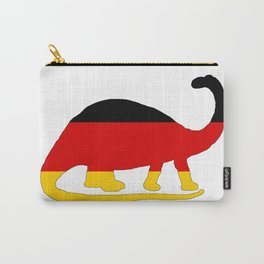 German Flag - Brontosaurus Carry-All Pouch