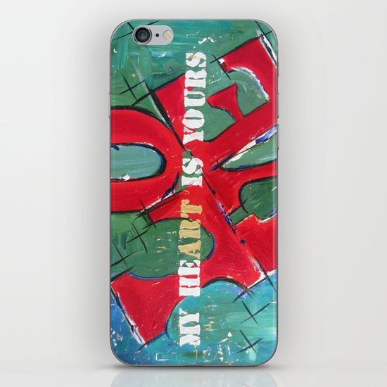 My Art is Yours iPhone Skin