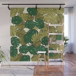 Botany: Monstera Deliciosa Wall Mural