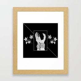 Tied & Nightshade Framed Art Print