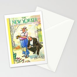 Vintage New Yorker Cover - Circa 1941 Stationery Cards