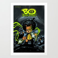 Bo Plushy Gangsta issue #3 cover poster regular Art Print