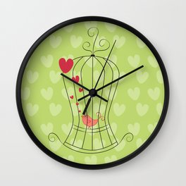 Sing your heart out! Wall Clock