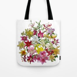 Lots of lilies to love! Tote Bag