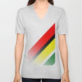 Guyana Unisex V-Neck