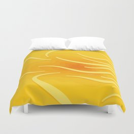 Under The Surface No. 2 Duvet Cover