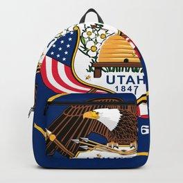 Utah State Flag Backpack
