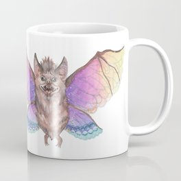 Marvelous Things - Bat with Butterfly Wings Coffee Mug