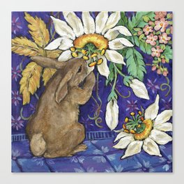 Fragrant Flowers Canvas Print