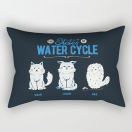 The States of the Water Cycle Rectangular Pillow