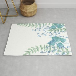 Vines and Leaves Rug