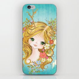Lovely Lady Of The Woodlands iPhone Skin