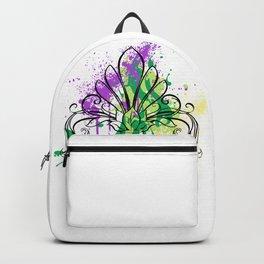 Mardi Gras Art Splash Backpack