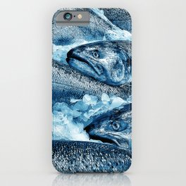 Market Fresh Salmon by Crow Creek Cool iPhone Case