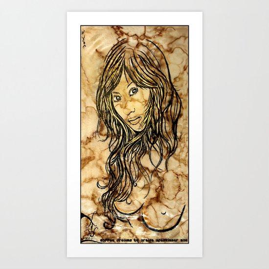 Coffee Dreams  Art Print