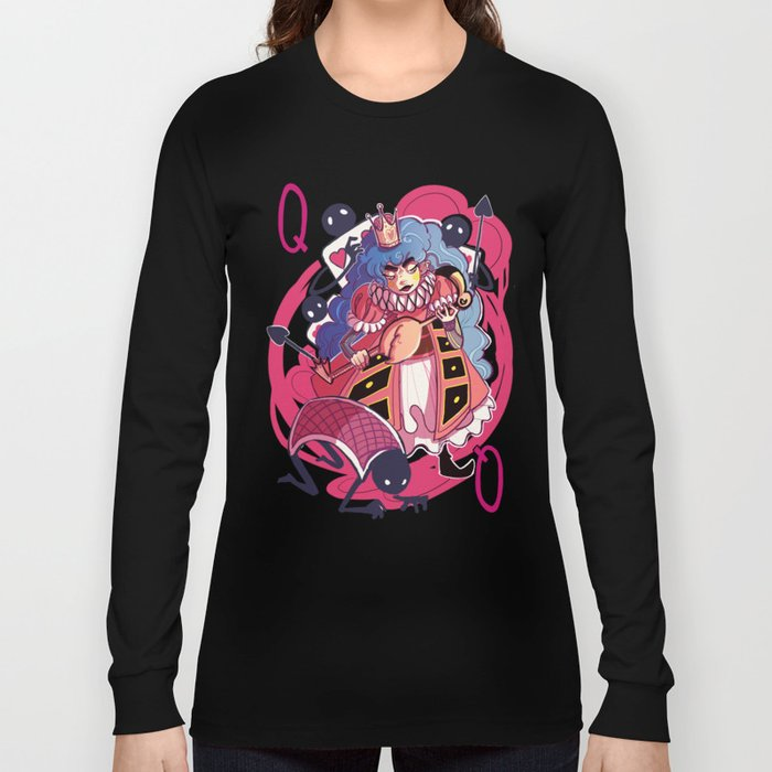 Queen of Hearts Long Sleeve T-shirt