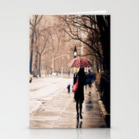 nyc Stationery Cards featuring NYC by Vivienne Gucwa