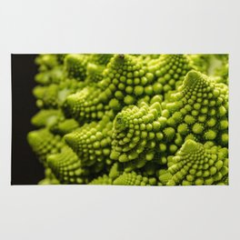 romanesco sprouts Rug