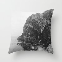 island Throw Pillows featuring Island by Laura O'Connor