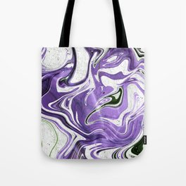 Ultraviolet Marble Tote Bag