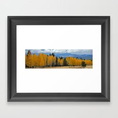 Arizona Autumn at Lockett Meadow Framed Art Print