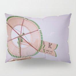Challenge Company Eclipse OK Vintage Antique Wooden Windmill Batavia Illinois Pillow Sham