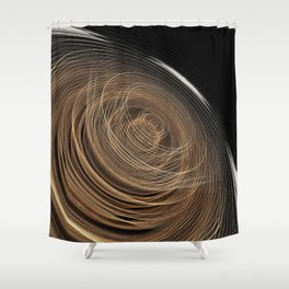 Lost in Time and Space Shower Curtain