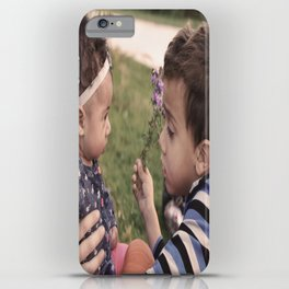 Brother and Sisterly Love iPhone Case