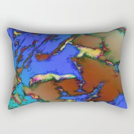 Isolated places 2 Rectangular Pillow