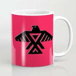 Thunderbird flag - Black on Red variation Coffee Mug