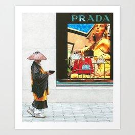 Two Worlds - Takuhatsu Art Print