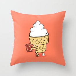 Everyone Poops by ilovedoodle Throw Pillow