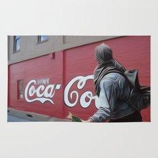 Coca Cola Wars Rug
