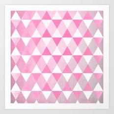 Pink Luck Art Print