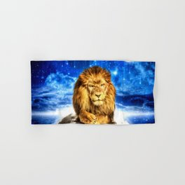 Grumpy Lion Hand & Bath Towel