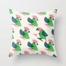 Brid Century Modern - Bird VII Throw Pillow