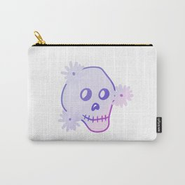 Gradient Skull  Carry-All Pouch
