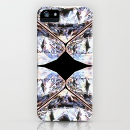 DIAMONDS ARE MORE THAN MY BEST FRIENDS iPhone Case