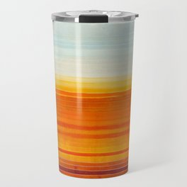 Yellowstone Orange Travel Mug