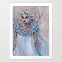 I Choose to Shine Bright Art Print