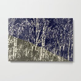 'Life is too much like a pathless wood ' Metal Print