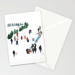 The Fork's River Trail Stationery Cards