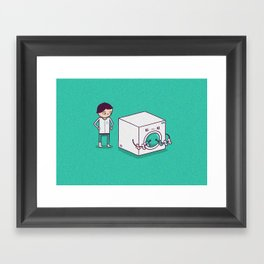 Secret Habit Framed Art Print