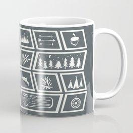 Camping [Reversed] Coffee Mug