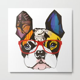 Mini---DOG Metal Print