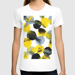 Yellow and Gray Interactions T-shirt