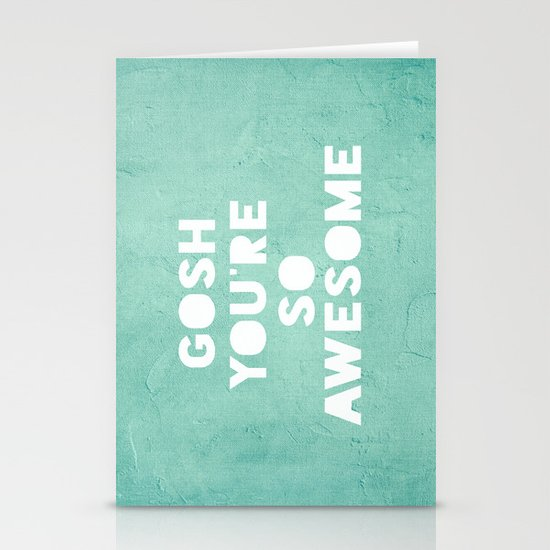 Gosh Stationery Cards