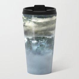 Mist on the Mountain Travel Mug
