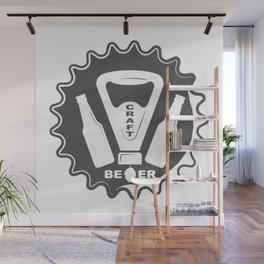 Opener Bottles with Craft Beer style Fashion Modern Design Print! Wall Mural